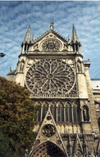 Rose Window, Notre Dame Cathedral, Paris