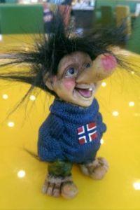 Norwegin mountain troll