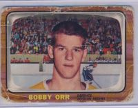 My Beat Up Bobby Orr Rookie Card