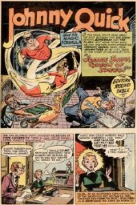 JOHNNY QUICK AND HIS MAGIC FORMULA !