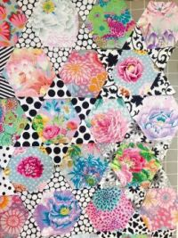 Beautiful Hexis . . . Kaffe Fassett Fabric