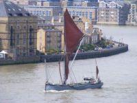 Sailing Barge  Xylonite