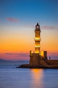 Gorgeous Lighthouse Sunset