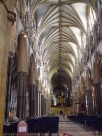 Inside Lincoln Cathedral 2