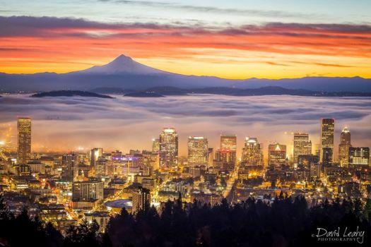 Portland OR  & Mt. Hood, OR
