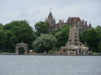 Boldt Castle on Heart Island - St. Lawrence River