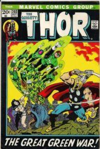 Thor vs Green Lantern Corps