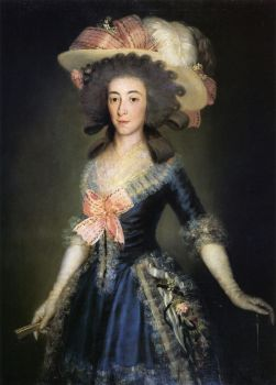 Goya - duchess-countess-of-benavente-1785