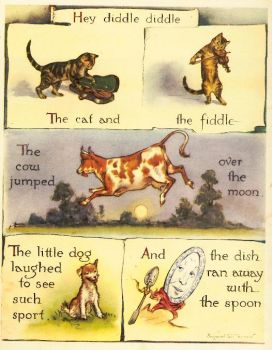 from Margaret Tarrant's nursery rhyme book