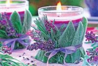 Fall Colors Lavender & Candles
