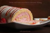 Strawberry Mousse Roll