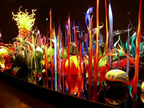 Chihuly Museum -- larger, by request.  This should drive you crazy!