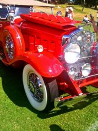 RED CLASSIC JALOPY