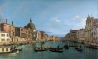 Venice, the Grand Canal with St. Simeone Piccolo