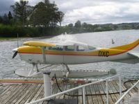 Seaplane at Lake Taupo