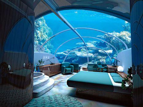 Underwater Hotel - Istanbul, Turkey