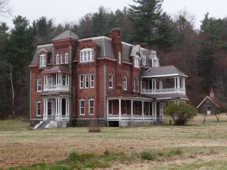 Graves Mansion Ausable Forks NY