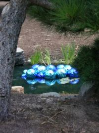 Chihuly art installation