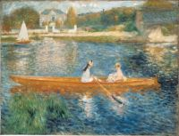 Renoir Boating on the Seine