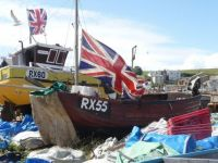 Old Town Hastings fishing boats 1