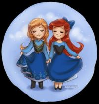 anna_and_ariel_by_daekazu-d6r8my4