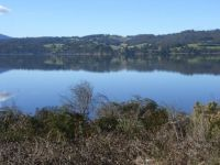 The Huon River from Castle Forbes Bay