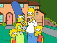 simpsons house