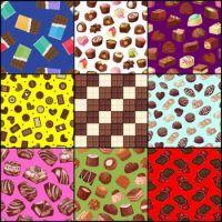 Chocolate patterns 1
