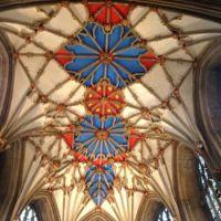 Tewkesbury Abbey - close up