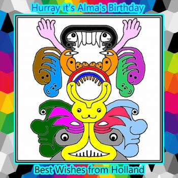 Hurray it's Alma's Birthday