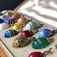 29 Stunningly Beautiful Imperial Fabergé Eggs Pendants