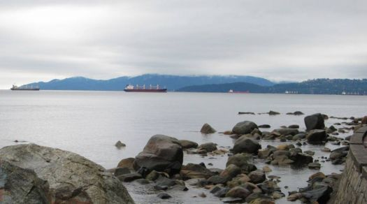 The North Shore from Stanley Park, Vancouver