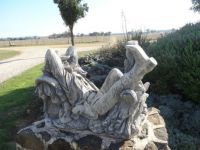 Statue at Owls Head Lodge, Gulgong NSW