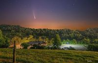 Neowise Comet in Clinton, Tennessee