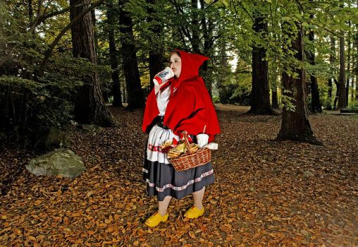Up to date Red riding hood....