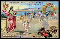 1904, Genova. Italy - Convegno Ciclistico Internazionale