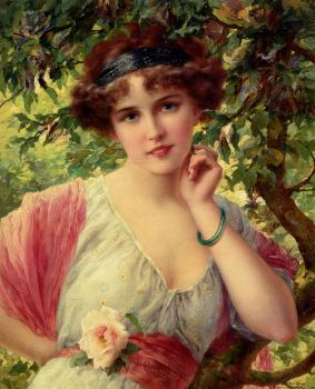 a summer rose by emile vernon