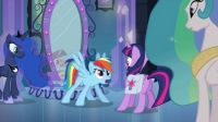 MLP magic mirror, kid-sized