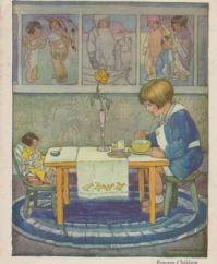 Illustration from A Child's Garden of Verses