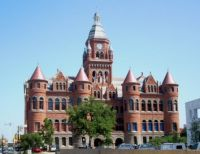 Old Red Court House in Dallas ~ I love this bldg.