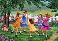 Little Girls Playtime