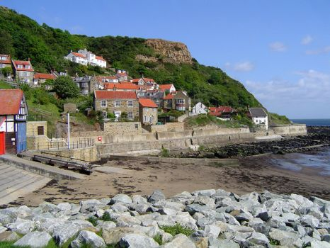 Runswick Bay, North Yorkshire.  Photo by Scott Rimmer