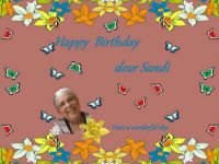 Happy Birthday dear Sandi (SandiT)