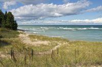 Beach on Lake Huron - Michigan