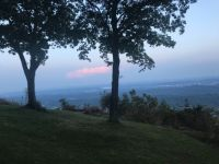 Evening view of Tennessee valley from Signal Mountain, TN