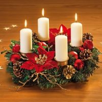 Advent Wreath - Corona de adviento 1
