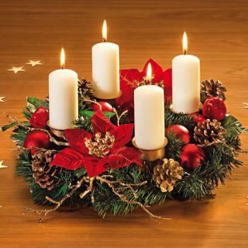 Advent Wreath - Corona de adviento 1