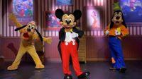 Pluto, Mickey and Goofy