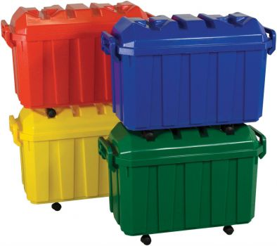 colored stacking trunks