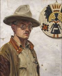Walter Ufer (American, born in Germany, 1876–1936), Self-Portrait (1920)